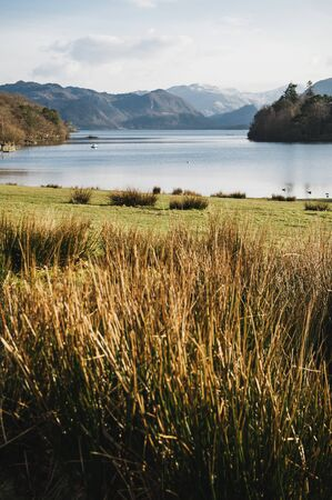 View of of the lakes in Lake District, Keswick, Cumbria