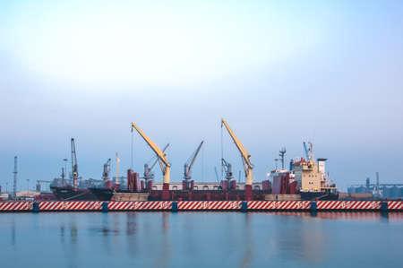 Panoramic Veracruz Port