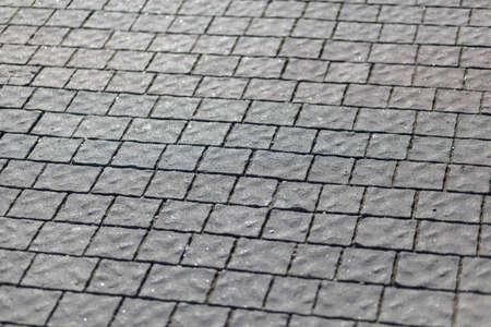 Stone wall texture, abstract texture desk tablet or wall Banco de Imagens