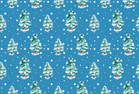 Collection of beautiful christman decoration in form of a pattern background