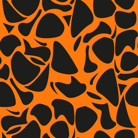 Leopard pattern repeating vector background