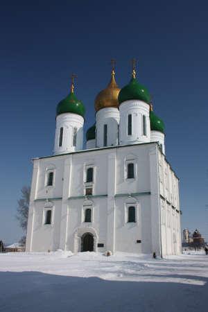 Russia, Kolomna  Uspenskiy Cathedral in Kolomna Kremlin  photo