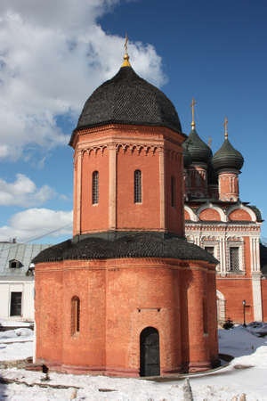 Russia, Moscow  Highly Petrovsky Monastery  Metropolitan Cathedral of St Peter  1517  photo