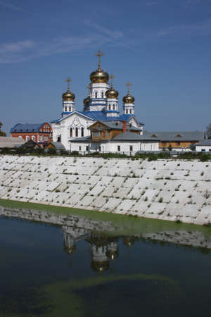 cupolas: Russia, Chuvash Republic, Tsivilsk. The Virgin of Tikhvin Monastery. Cathedral of Our Lady of Tikhvin.