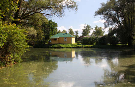 boldino: Reserve Museum Pushkin Boldino. Russia, Nizhny Novgorod region, Bolshoe Boldino Editorial