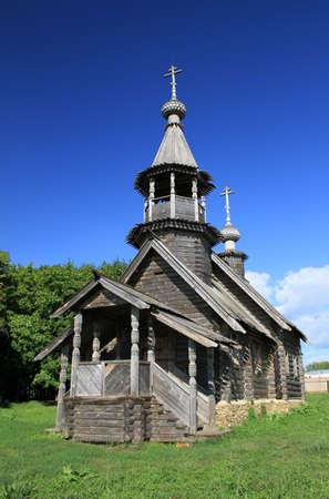 boldino: Chapel of the Archangel Michael. Reserve Museum Pushkin \Boldino\. Russia, Nizhny Novgorod region, Boldino