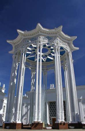rotunda: Rotunda at the pavilion Culture VVC VDNKh. Russia Moscow