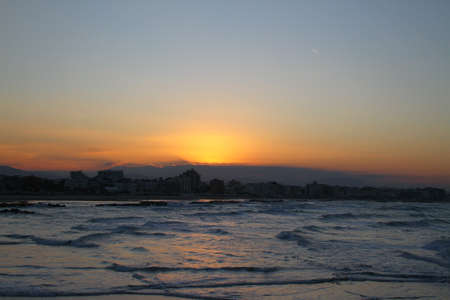 mare: Sunset in Gabicce Mare, Italy