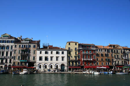 grand canal: Grand Canal in Venice, Italy Editorial