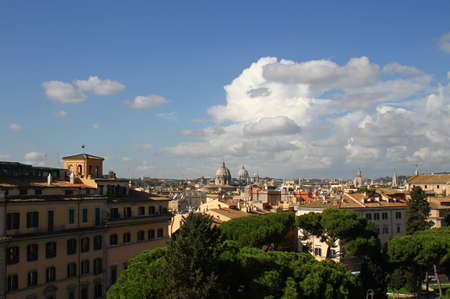 general: Rome - a general view of the city. Italy