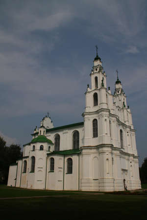 belarus: Sophia Cathedral. Belarus, Polotsk Stock Photo