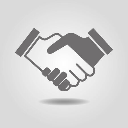 conclusion: Handshake  People shake hands  Friendly handshake  Conclusion of the transaction