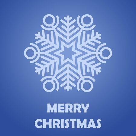 Gratulation Frohe Weihnachten. Postkarte. Vektor Bild. Standard-Bild - 68674924