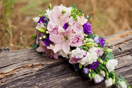 Schöne Hochzeit Tabelle Mit Blumendekoration In Pastell, Pfirsich ...