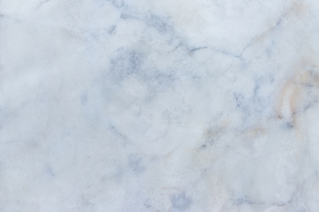 Slightly lightened slices marble background. Horizontal image. Cold blue natural colors. Beautiful close up background. Ideal for sites, banners, brochures, design