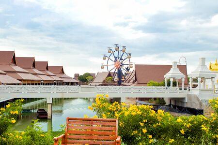 Legend Siam park in Pattaya, Thailand. Beautiful Legend Siam is new landmark in Pattaya and popular tourist attraction