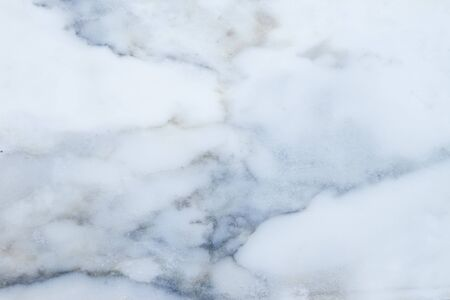 Slightly lightened slices iced marble background. Horizontal image. Cold blue and grey colors. Beautiful close up background. Ideal for sites, banners, brochures, design, advertising, web