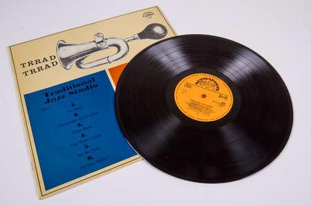 Traditional Jazz Studio, Trrad Trrad, LP 1967,musical vinyl record