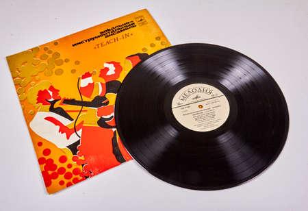Teach-In, Dutch pop group, vintage vinyl record