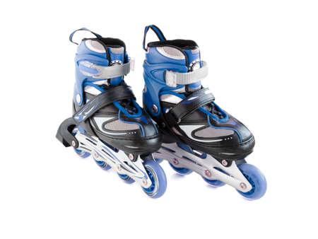 patines: Patines de ruedas Foto de archivo