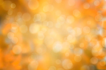 leaf fall abstract background with sun beams and flares Standard-Bild