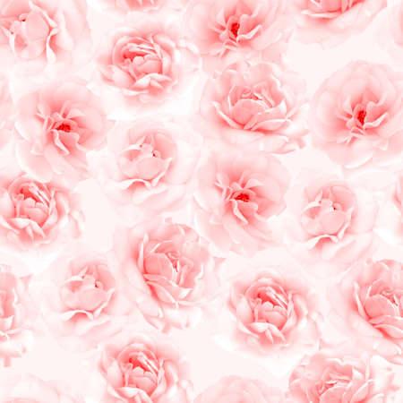 pink wallpaper: Pink roses seamless pattern