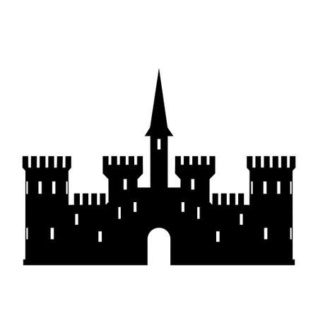 Abstract castle vector  template 向量圖像