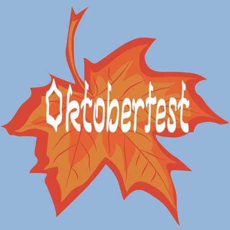 brushed: Oktoberfest card.