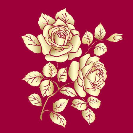 Golden Rose sketch
