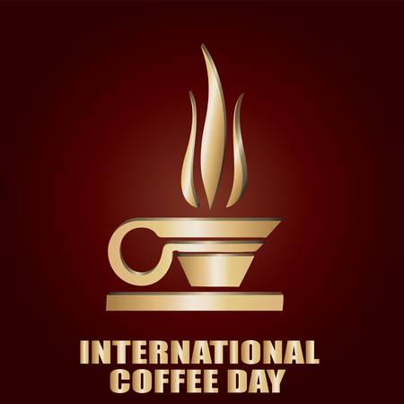 International CoffeeDay Illustration