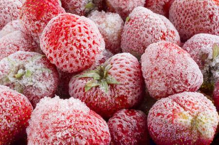 frozen strawberries Zdjęcie Seryjne