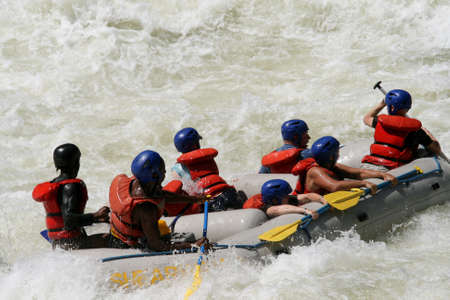 zambezi: Rafting on a river Editorial