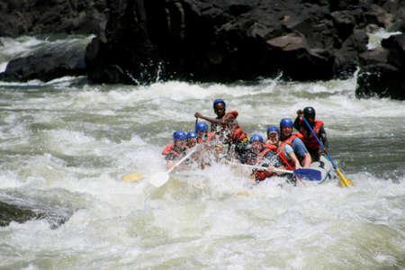 zambezi: Rafting