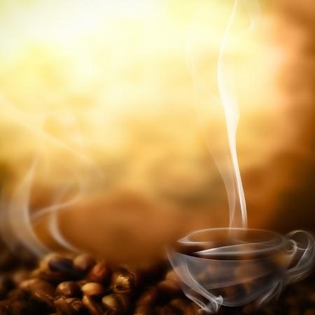 coffe bean: Caf� del men�