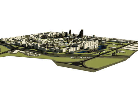 reconstruction: conceptual 3d model for the reconstruction of the historic part of Chisinau city