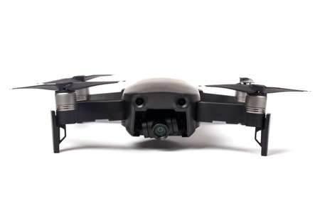 drone dji mavic air, isolated on white background
