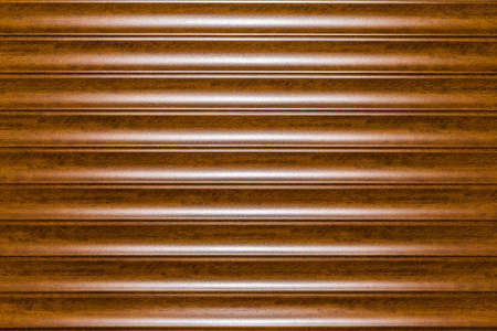 Brown Plastic Garage Door With Space For Text Background Image