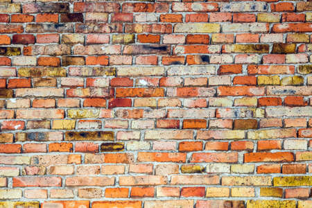 close up photo of brick wall, background texture