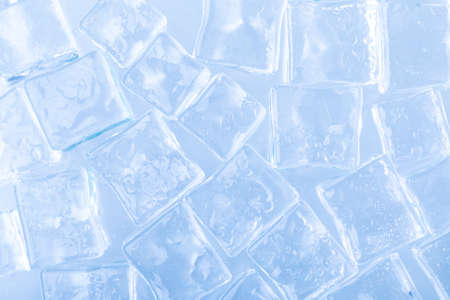 ice cubes cold screen saver, ingredient for cocktails and drinks in the hot season