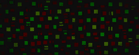 Abstract of colorful geometric on black 免版税图像 - 152977315