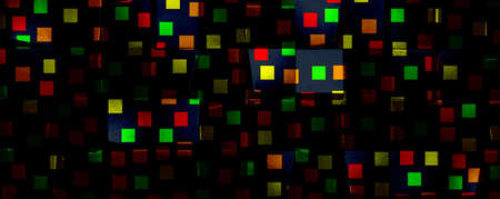 abstract colorful background, panoramic mock-up 免版税图像 - 153719825