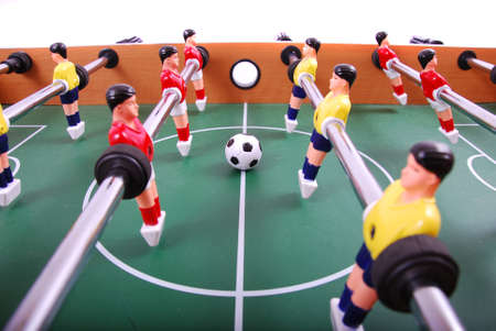 little table: table soccer football game detail