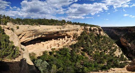 anasazi: Mesa Verde national park colorado Stock Photo