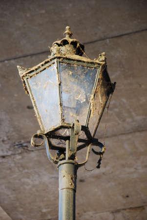 sedition: old historic urban city lamp