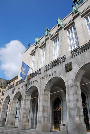 outpost: Ostrava town hall square