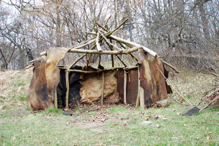 primordial: primeval prehistoric primordial shack house