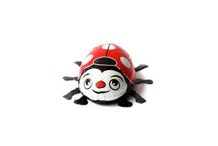 lady bug: chocolate aluminium lady bug sweet