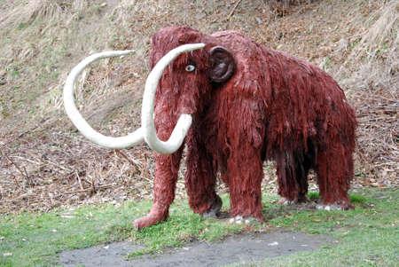 eiszeit: alt Eiszeit Mammut-Modell