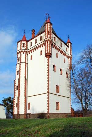 nad: gothic castle Hradec nad Moravici