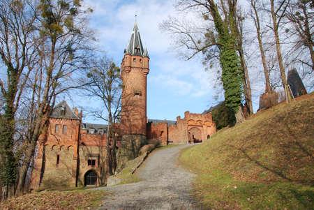 nad': romantic castle Hradec nad Moravici